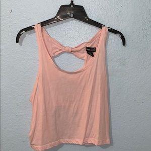 pink kinda crop top